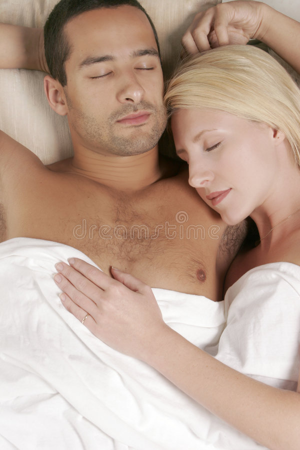 Download Asleep Couple stock photo. Image of relationship, match - 3753860