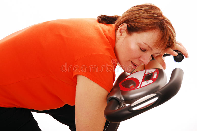 Asleep Exercise Royalty Free Stock Images