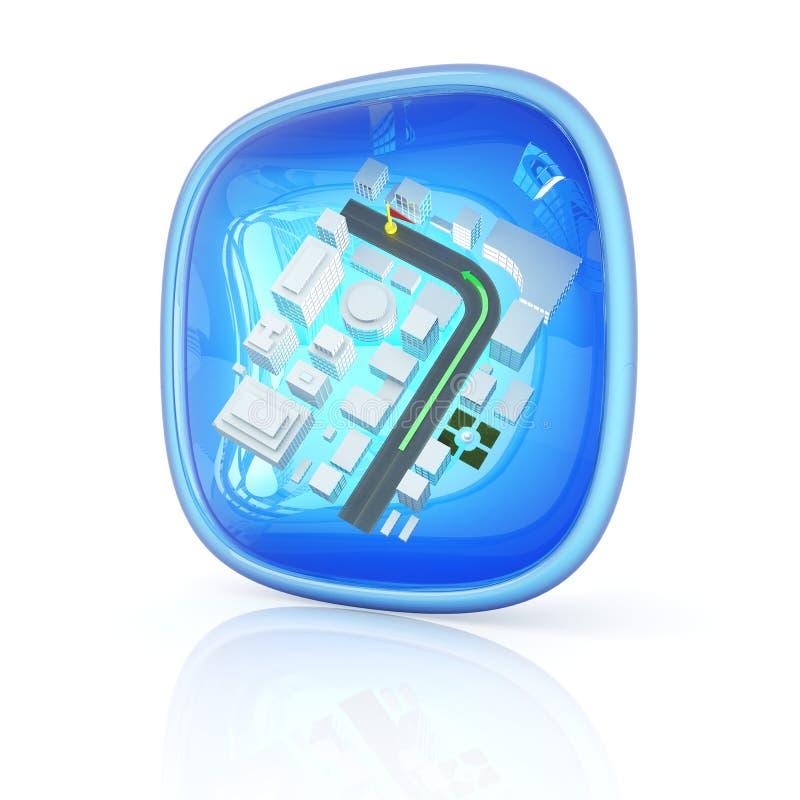 Asocia el icono 3d stock de ilustración