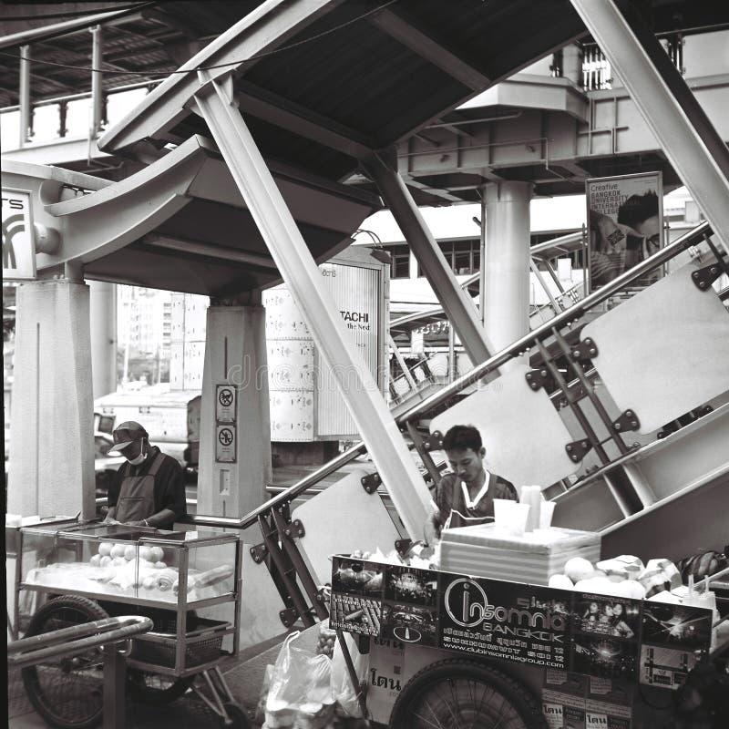 asok驻地的摊贩 免版税图库摄影
