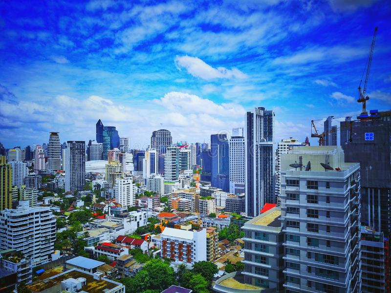 asoke Bangkok images stock