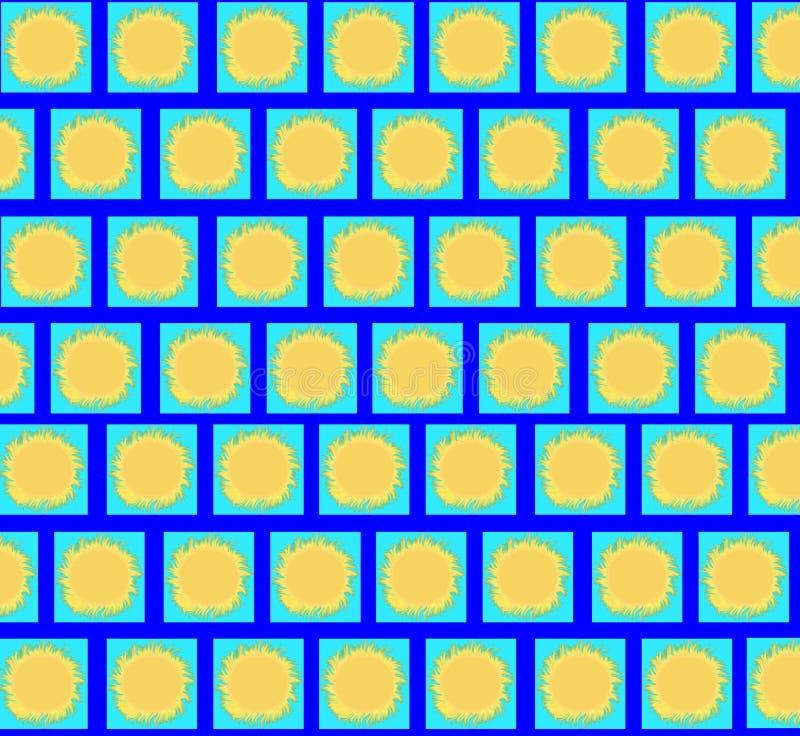 Asolea el fondo ilustración del vector