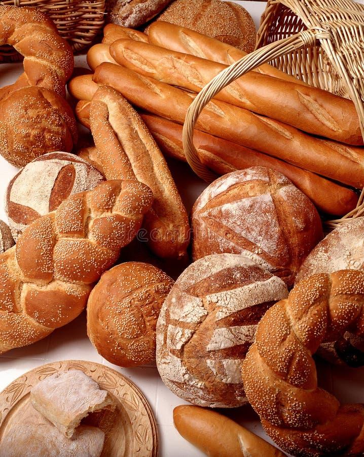Asortment dos pães imagem de stock