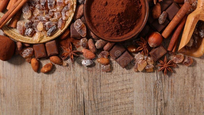 asortowana czekolada zdjęcia royalty free