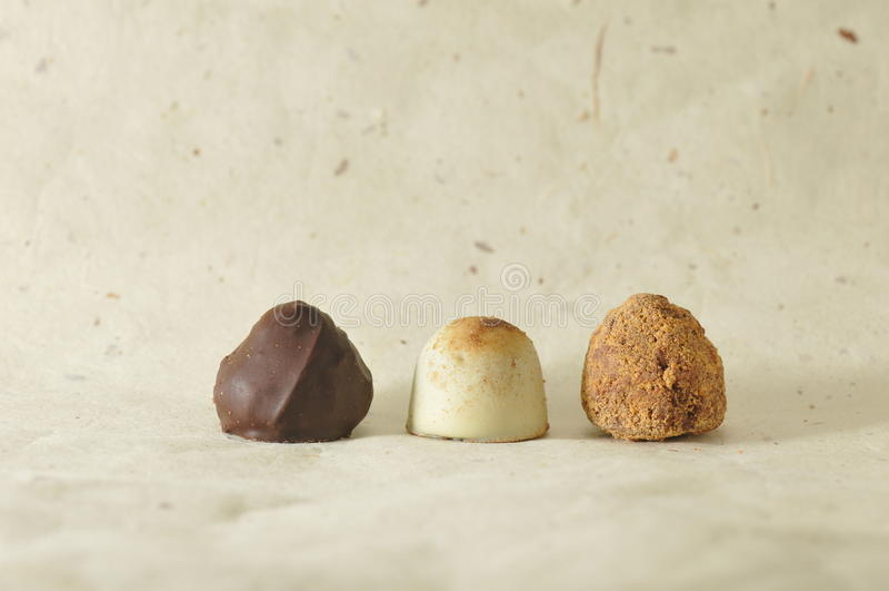 asortowana czekolada zdjęcia stock