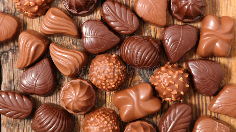 asortowana czekolada obraz royalty free