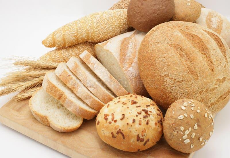 asortowany chleb. zdjęcie stock