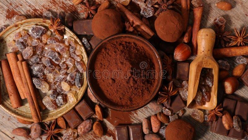 Asortowany kakao obraz royalty free