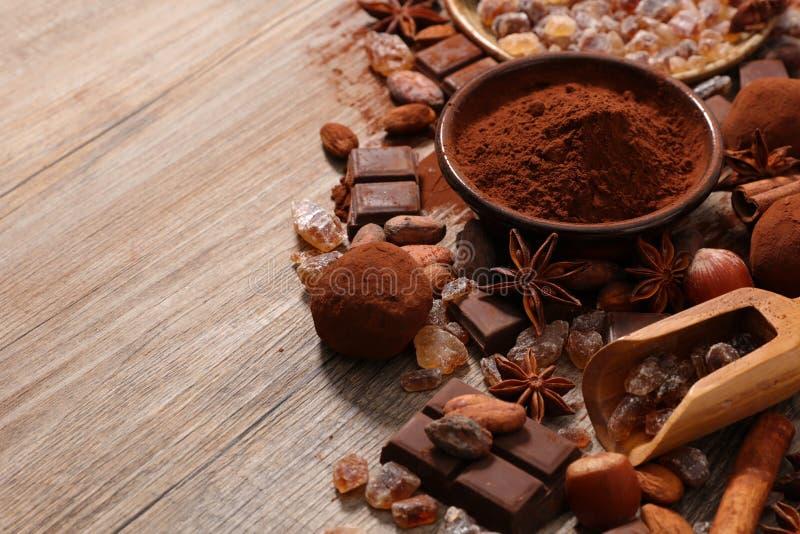Asortowany kakao zdjęcie stock