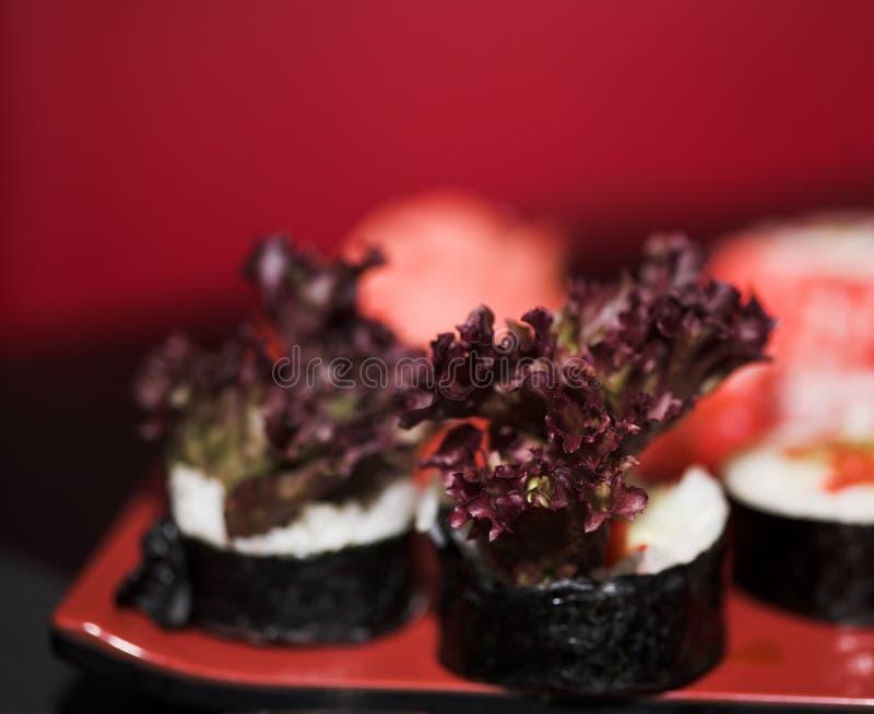 asortowany lunchu sushi obraz royalty free
