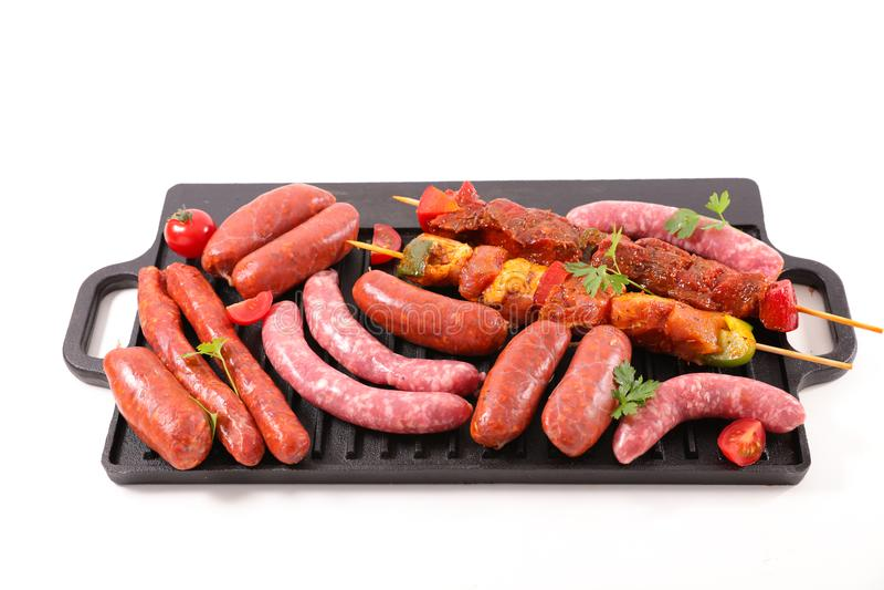 asortowany mięso obraz royalty free