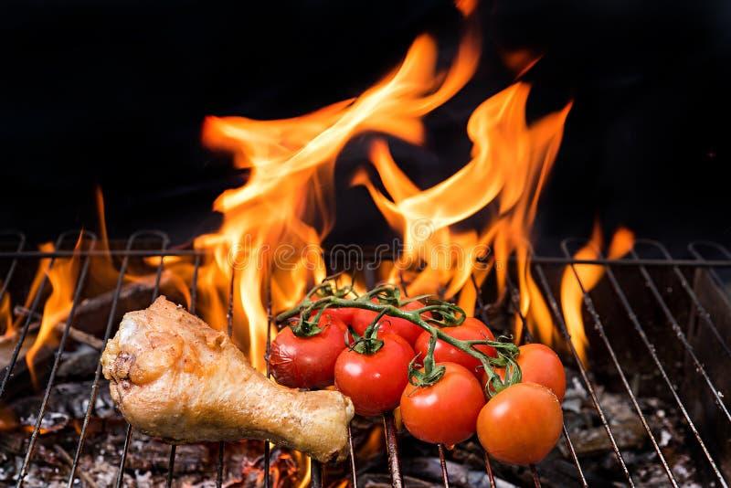 Asortowany wyśmienicie piec na grillu zdjęcie stock