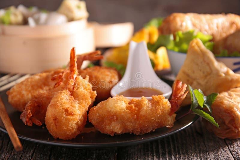 Asortyment Asia jedzenie fotografia stock