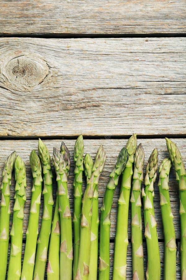 Asparago verde fotografia stock