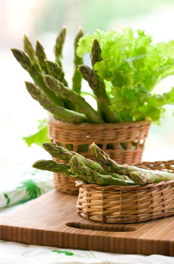asparagus świeży obraz stock