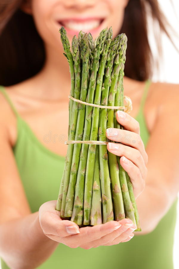 Download Asparagus stock photo. Image of healthy, happy, holding - 26314204