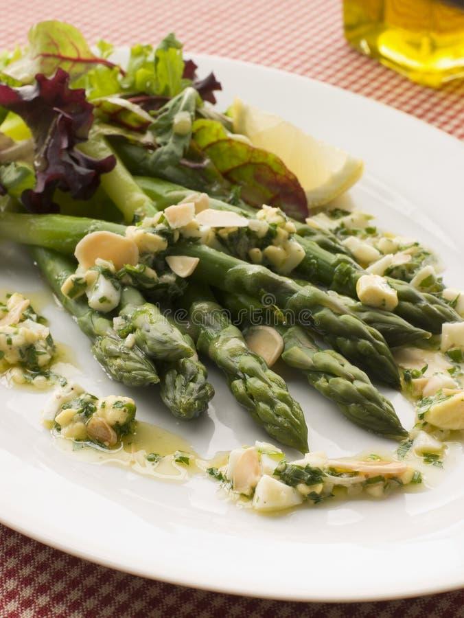 asparagus polonezowy włócznie winegret fotografia royalty free