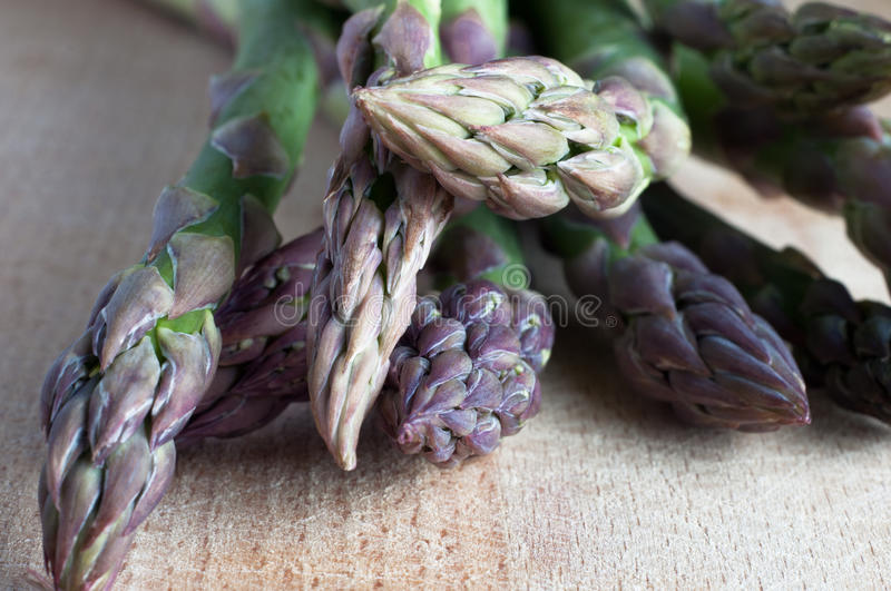 Asparagus Spears Close Up royalty free stock photo