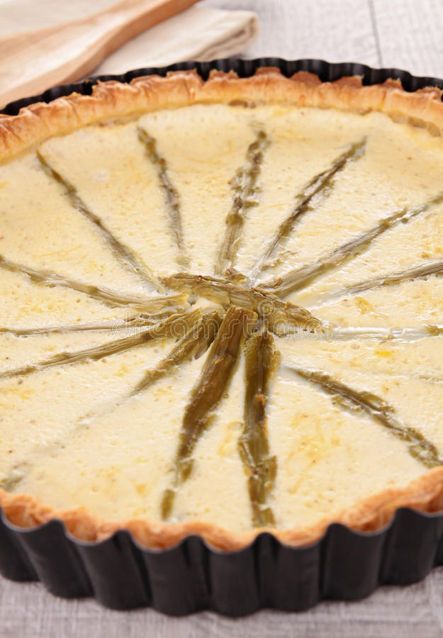 Download Asparagus Tart Royalty Free Stock Image - Image: 25229196