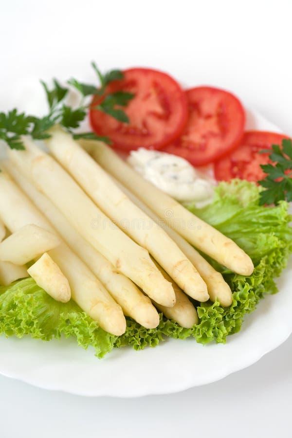 asparagus white zdjęcia royalty free