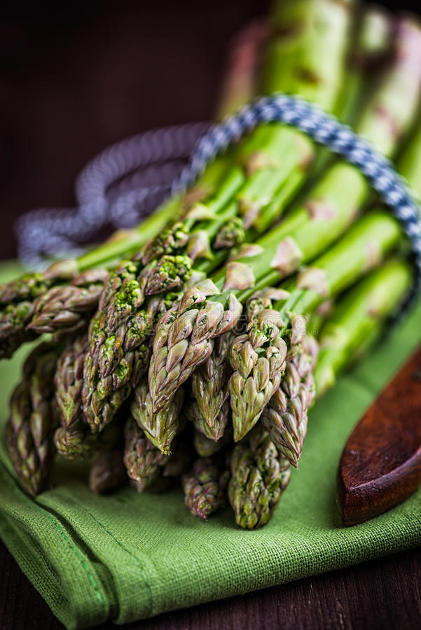 asparagus zieleń zdjęcia stock