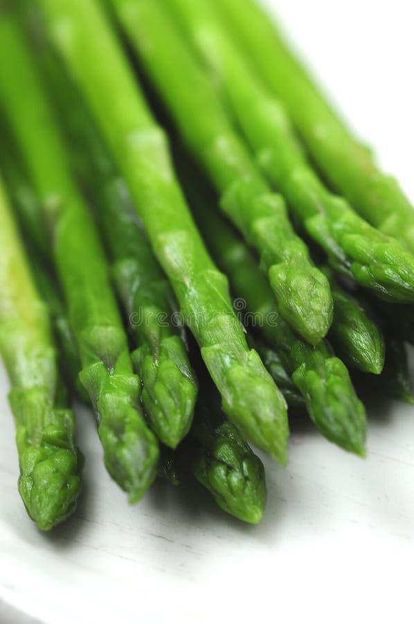 asparagusa zakończenia zieleni obrazek fotografia stock