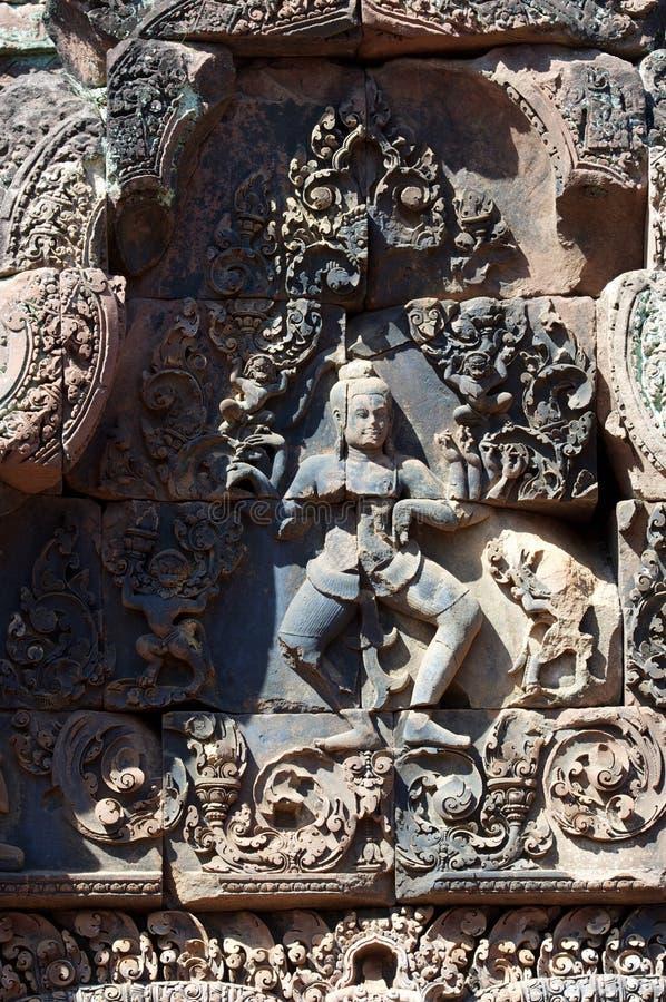 Asparas wat angkor танцоров Khmer стоковое фото rf