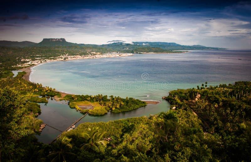 Aspecto de los alrededores de Baracoa, Cuba fotos de archivo libres de regalías