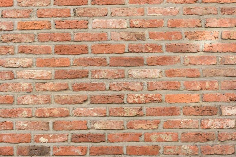 Aspecto do vintage da parede de tijolo fotos de stock