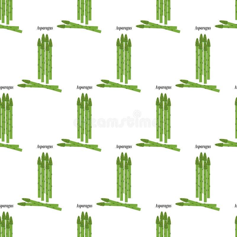 Asperge seamlesss patroon vector illustratie