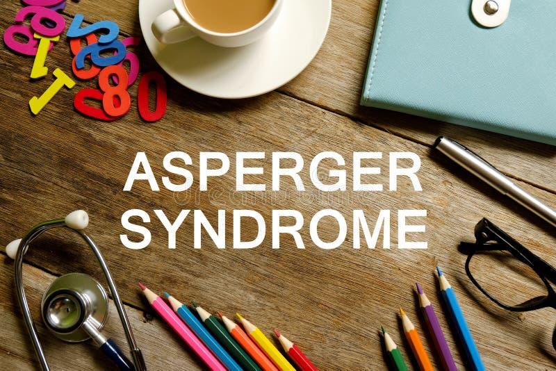 Aspergersyndroom royalty-vrije stock foto