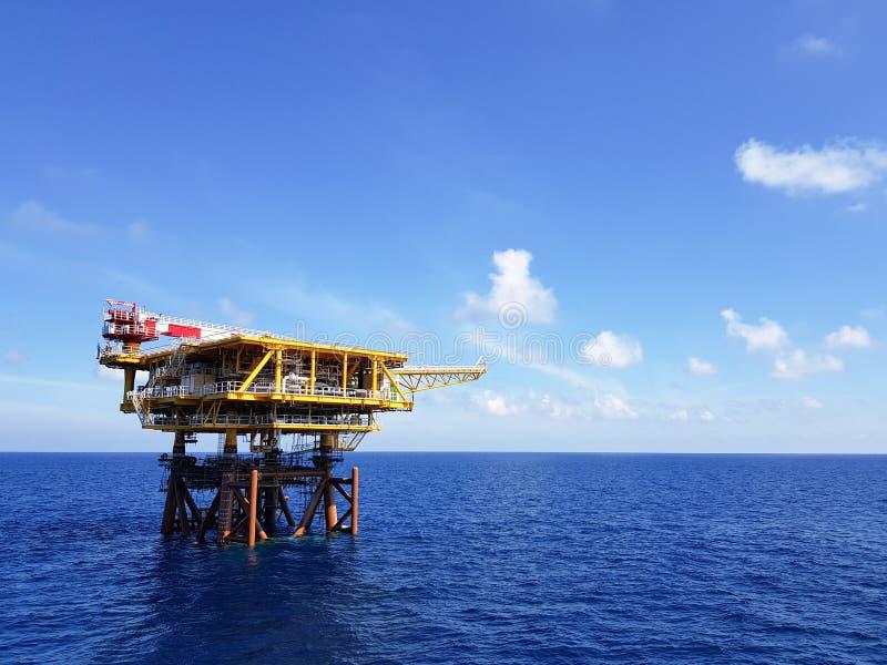 Aspetti per produzione di petrolio fotografia stock