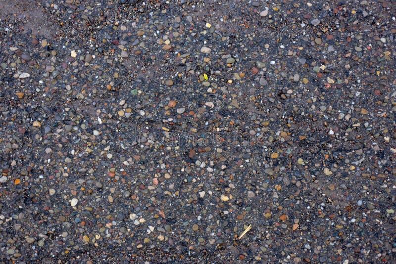 Asphalt. Aging asphalt street urban wet royalty free stock photo