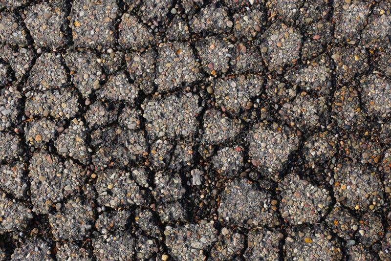 Asphalt. Aging asphalt street urban wet, plus some dirt stock images