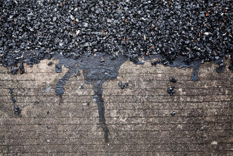asphalt stockfoto