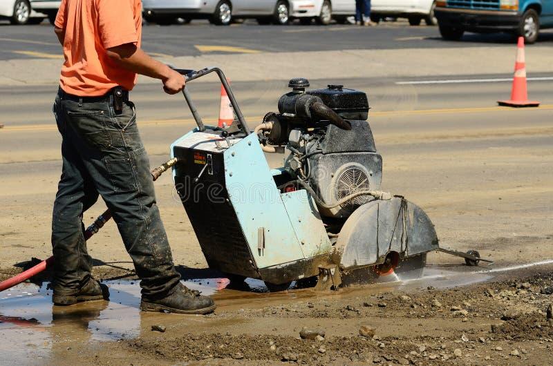 Download Asphalt Cut stock image. Image of slab, asphalt, circular - 21208931