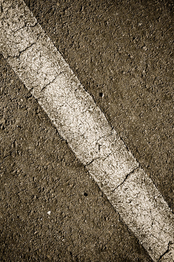 Download Asphalt with Diagonal Line stock image. Image of abstract - 14698163