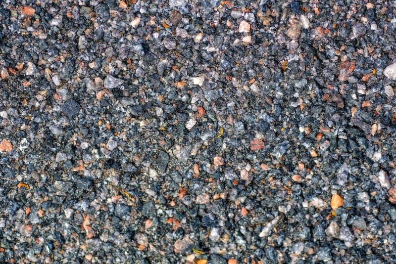 Asphalt grain, colorful stone texture royalty free stock image