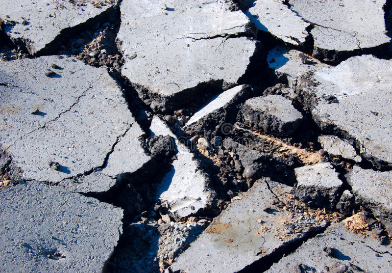 Asphalt pavement royalty free stock photography