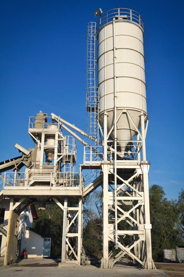 Download Asphalt plant stock image. Image of built, factory, industry - 26966975