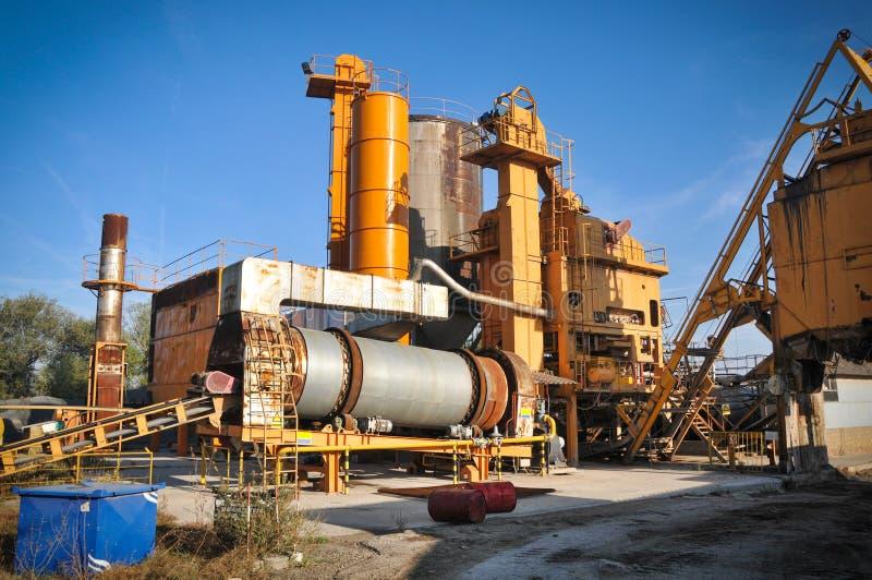 Download Asphalt Plant Stock Image - Image: 26967221