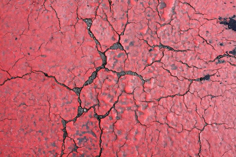 Asphalt Red Texture imagens de stock royalty free
