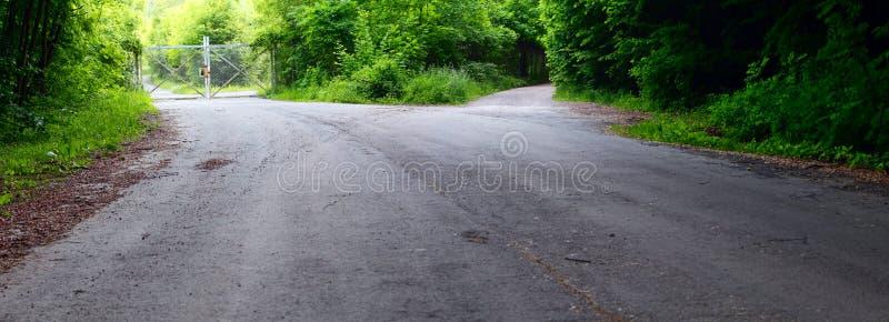 Asphalt Road Royalty Free Stock Images