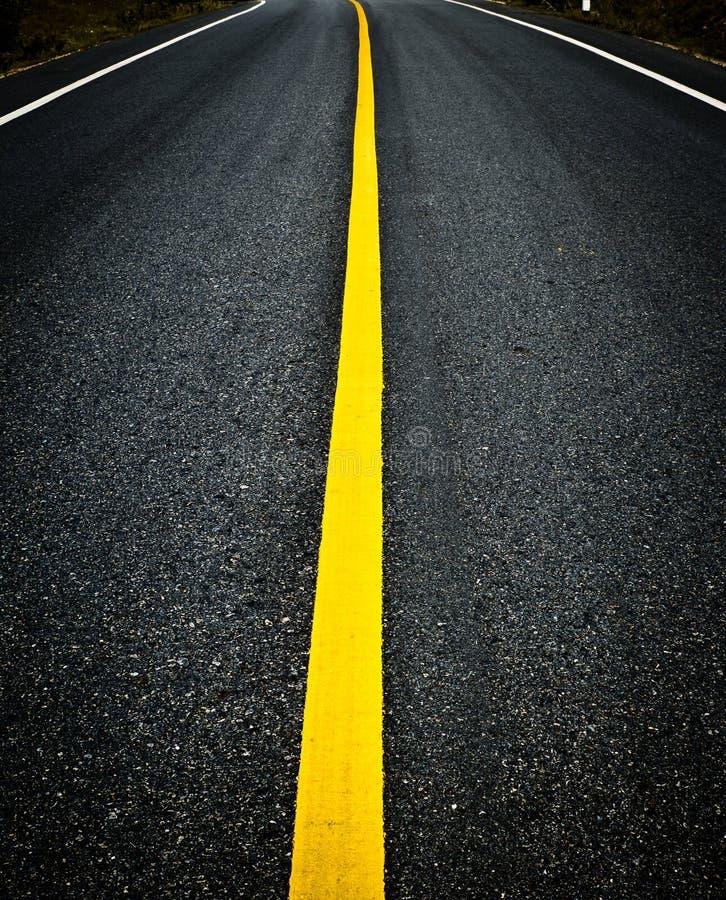 Asphalt Road Background photographie stock libre de droits