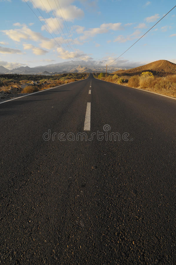 Download Asphalt Road in the Desert stock image. Image of highway - 34235061