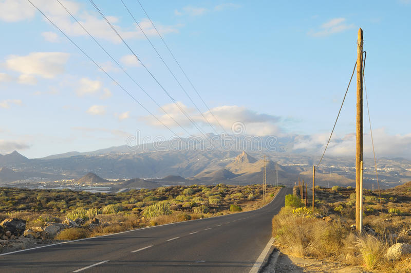 Download Asphalt Road in the Desert stock image. Image of adventure - 34235173