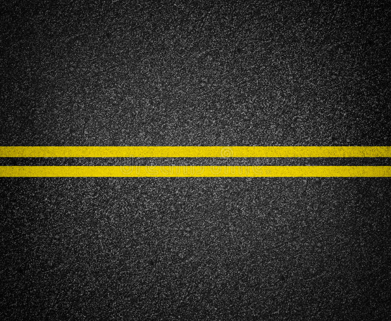 Asphalt road marking top view royalty free stock images