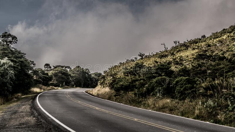 Asphalt road royalty free stock image