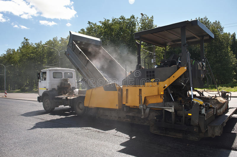 Download Asphalt Road Repairing Works Stock Photo - Image: 14728230