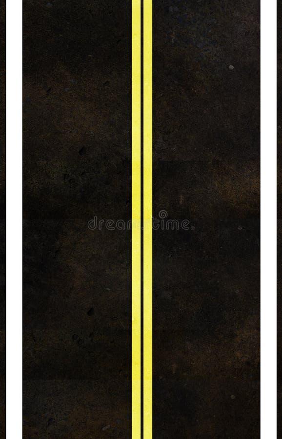Asphalt Road Texture Stock Photography